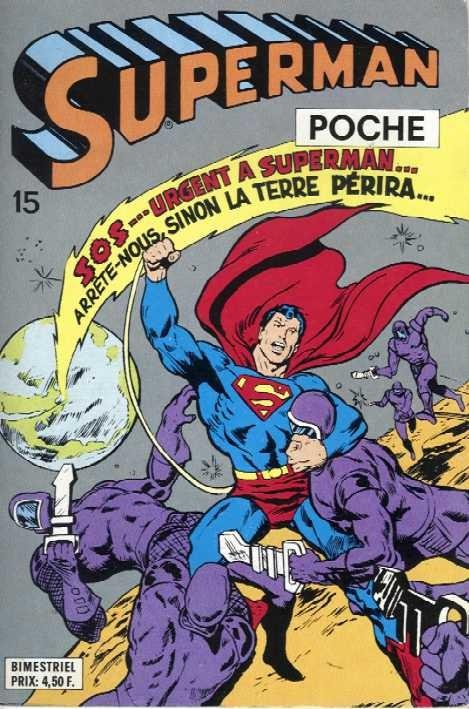 Couverture de Superman (Poche) (Sagédition) -15- Superman poche N°15