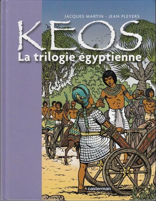 Couverture de Kéos -INT- La trilogie égyptienne