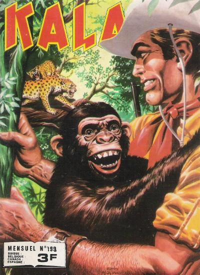 Couverture de Kalar -199- Le fou de Mono Tapa