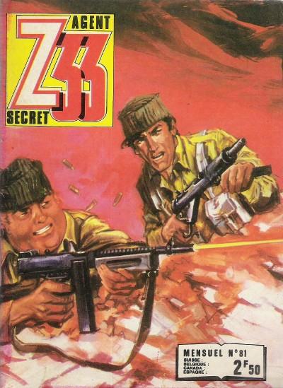 Couverture de Z33 agent secret -81- La nuit des chauves-souris