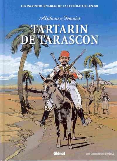 Couverture de Les incontournables de la littérature en BD -19- Tartarin de Tarascon