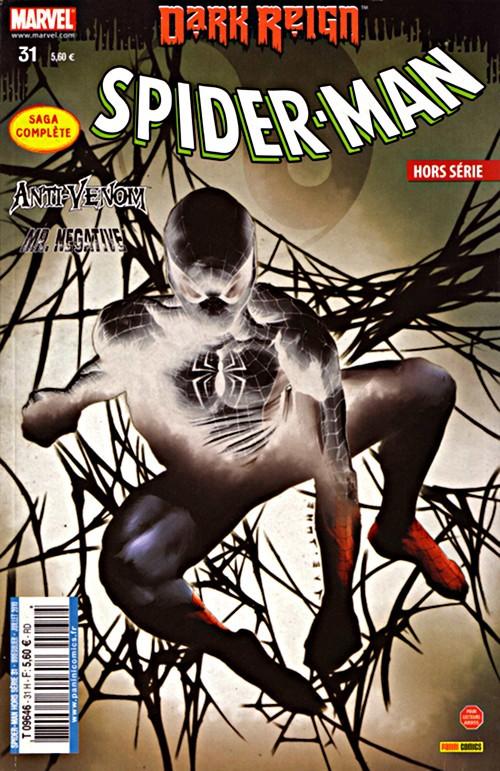 Couverture de Spider-Man Hors Série (Marvel France puis Panini Comics, 1re série) -31- La force des ténèbres
