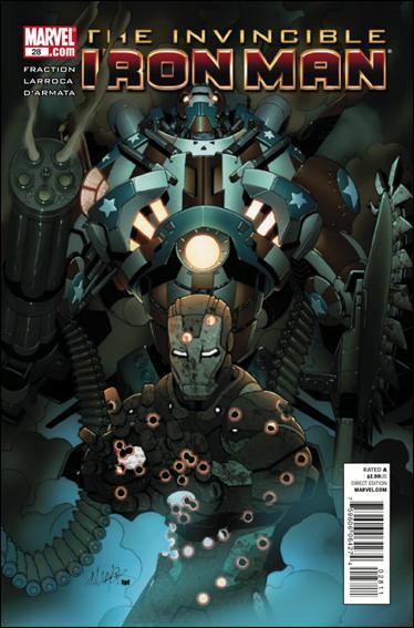 Couverture de Invincible Iron Man (2008) -28- Stark resilient part 4 : grand mal Tokyo moron party