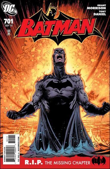Couverture de Batman Vol.1 (DC Comics - 1940) -701- R.I.P. the missing chapter