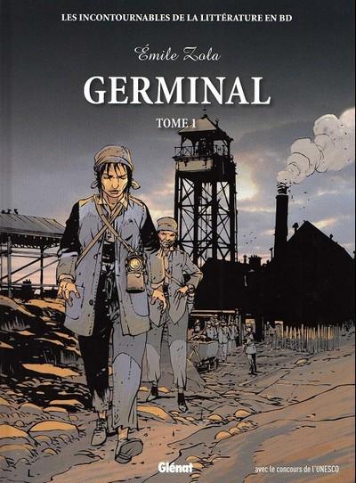 Couverture de Les incontournables de la littérature en BD -20- Germinal - tome 1