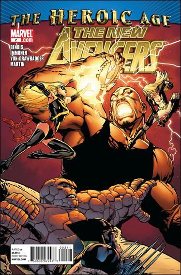 Couverture de New Avengers (The) (2010) -2- Possession part 2