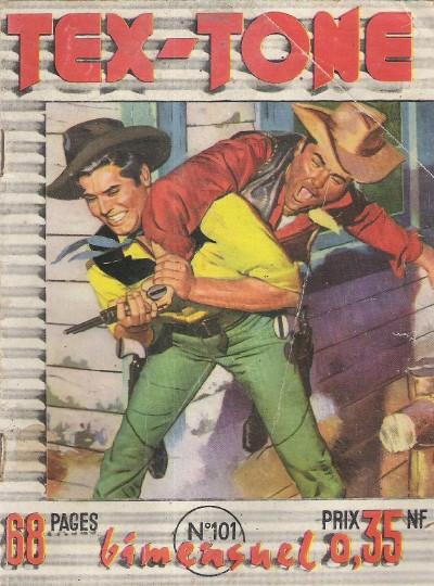 Couverture de Tex-Tone -101- Le jour des moissons...