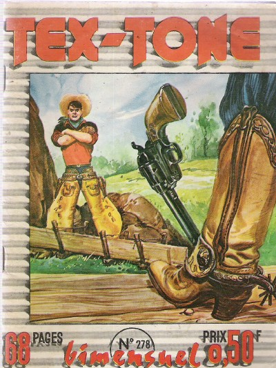 Couverture de Tex-Tone -278- Une signature difficile