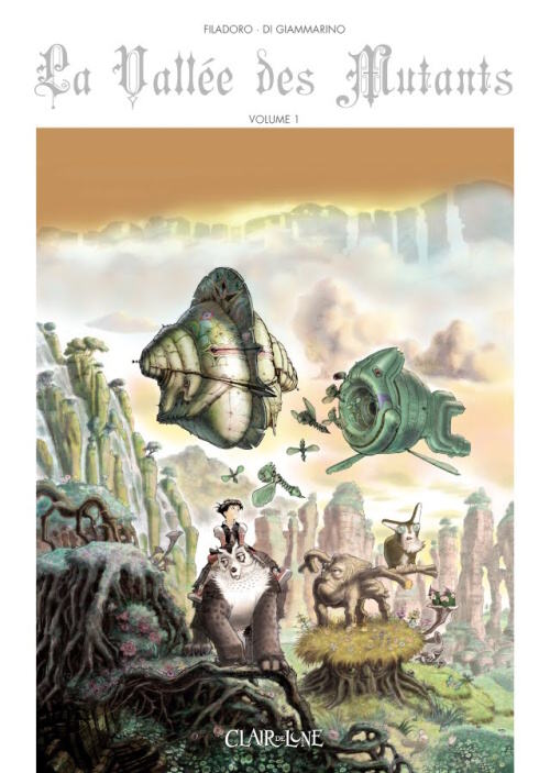 Couverture de La vallée des mutants -1- Volume 1