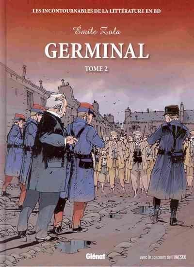 Couverture de Les incontournables de la littérature en BD -21- Germinal - tome 2