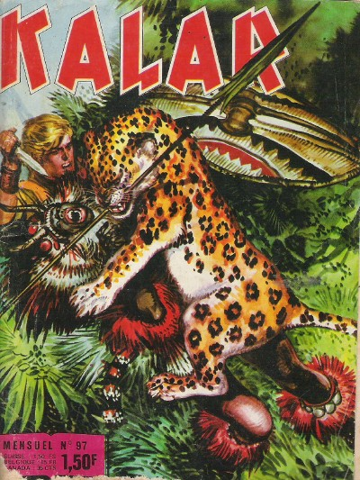 Couverture de Kalar -97- Les fugitifs