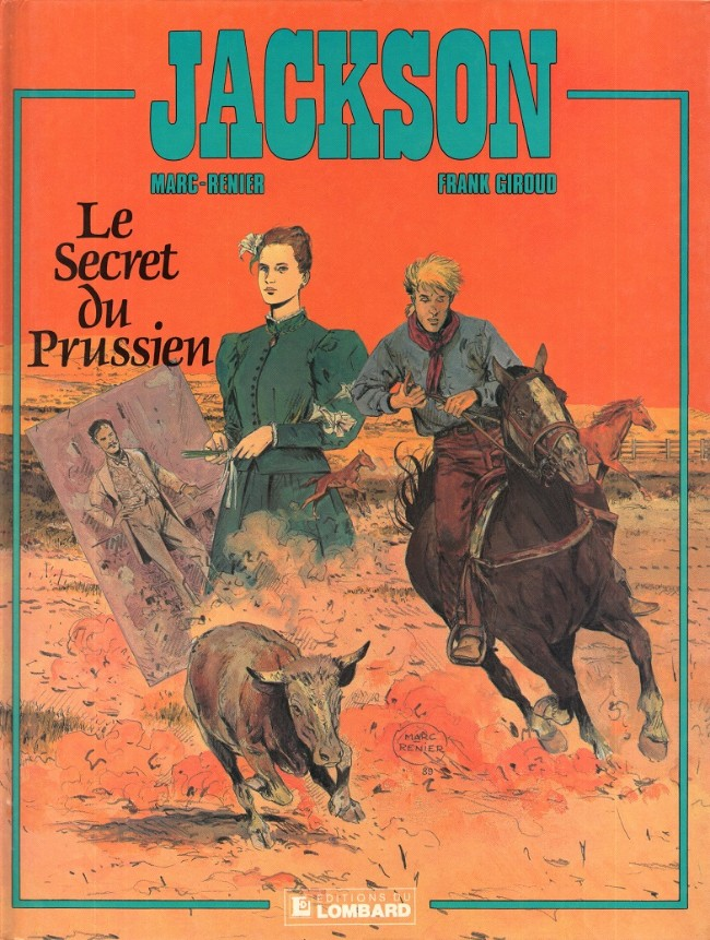 Couverture de Jackson -2- Le secret du Prussien