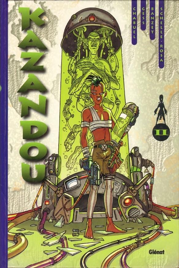 Kazandou Intégrale 2 tomes CBZ