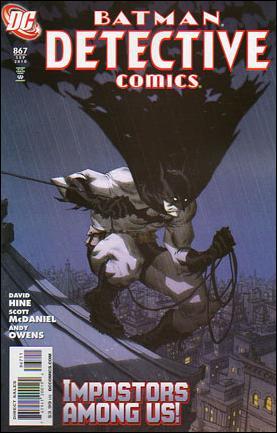 Couverture de Detective Comics (1937) -867- Impostors part 1 : laugh and the world laughs with you