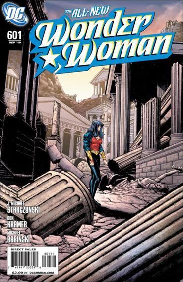 Couverture de Wonder Woman Vol.1 (DC Comics - 1942) -601- Past imperfect, past tense