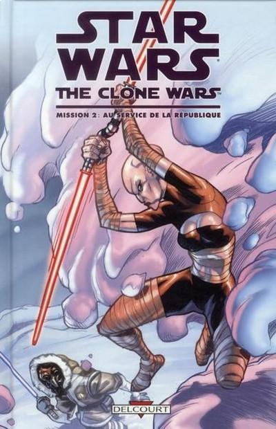 Couverture de Star Wars - The Clone Wars -2- Mission 2 : Au service de la République