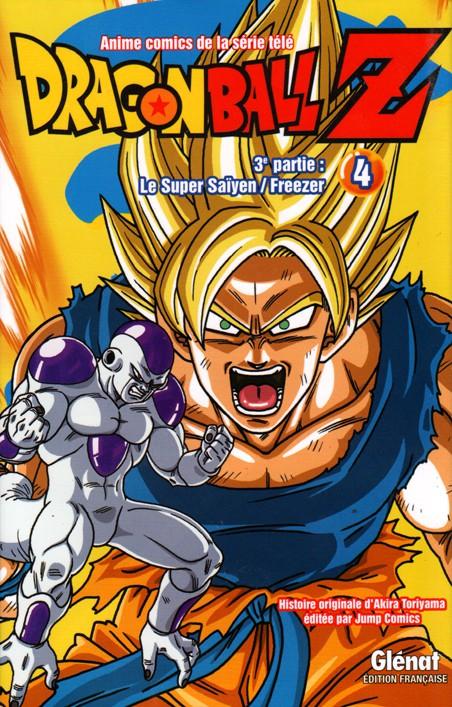 Couverture de Dragon Ball Z -15- 3e partie : Le Super Saïyen / Freezer 4