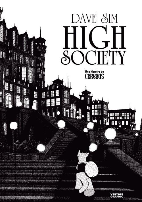 Couverture de Cerebus (Une histoire de) -1- High Society