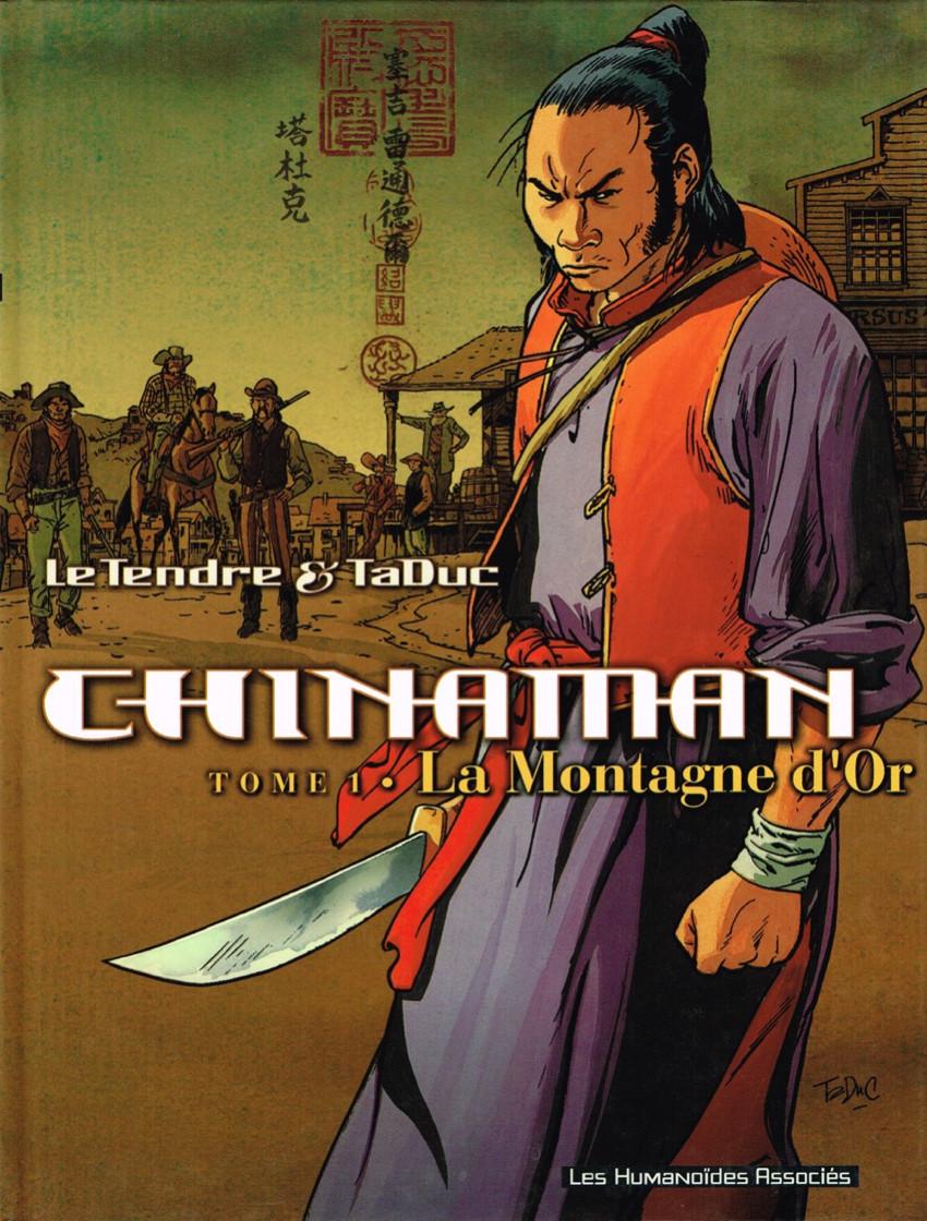 Couverture de Chinaman -1- La Montagne d'Or