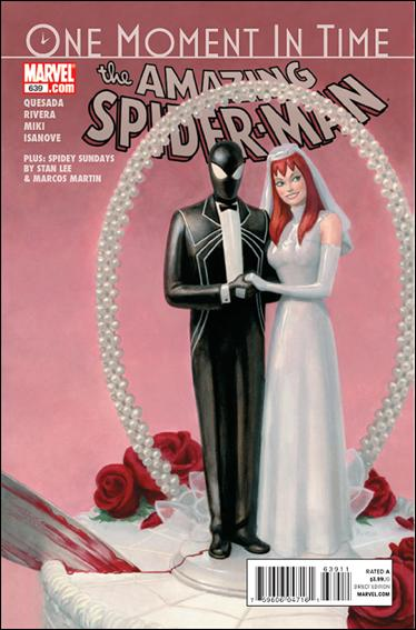 Couverture de Amazing Spider-Man (The) Vol.2 (Marvel comics - 1999) -639- One moment in time, chapter two : something new