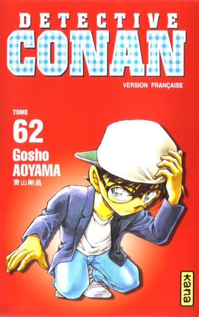 Couverture de Détective Conan -62- Tome 62