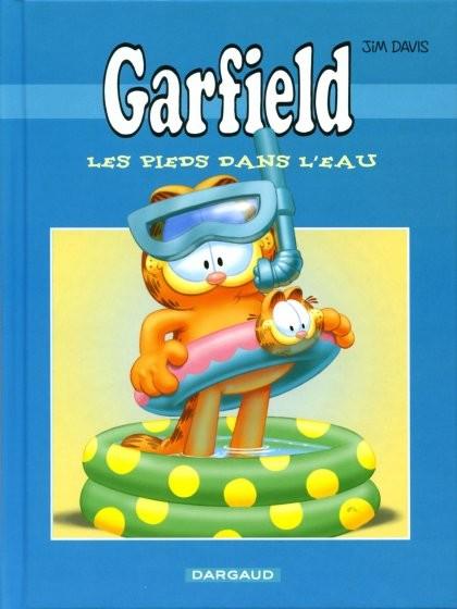 Couverture de Garfield -Total3- Les pieds dans l'eau