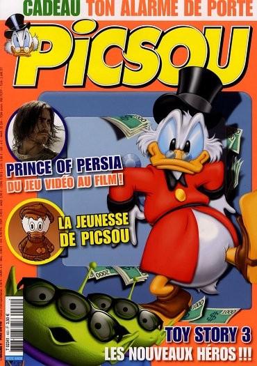 Couverture de Picsou Magazine -460- Picsou magazine N°460