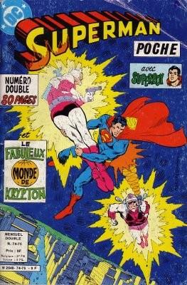 Couverture de Superman (Poche) (Sagédition) -7475- Terra double ! Le vagabond cosmique