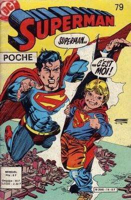 Couverture de Superman (Poche) (Sagédition) -79- L'enfant qui jouait à superman
