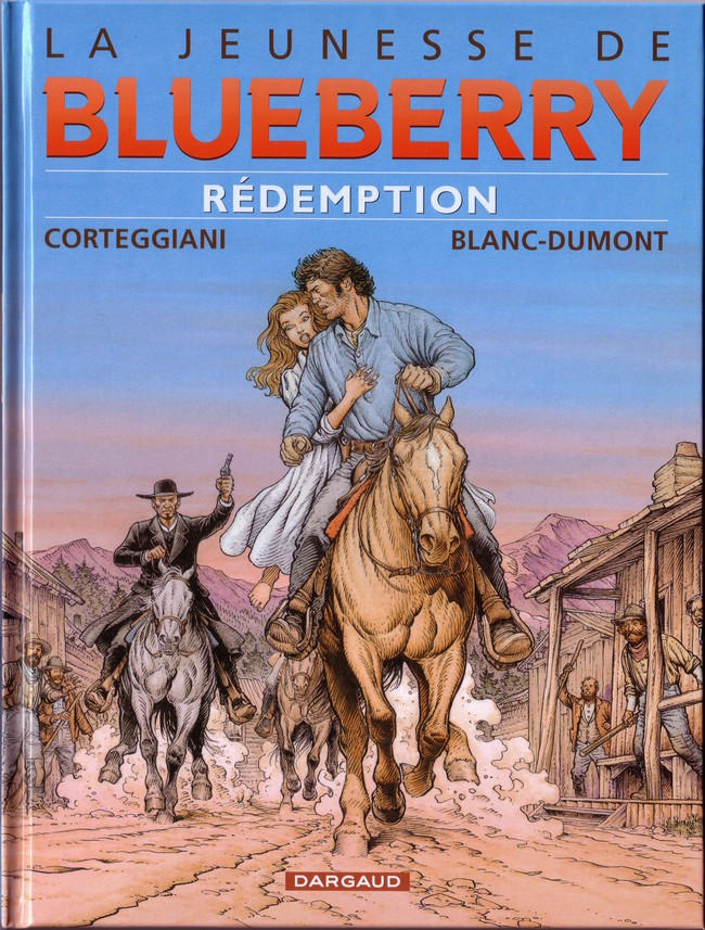 Couverture de Blueberry (La Jeunesse de) -19- Rédemption