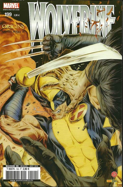 Couverture de Wolverine (Marvel France 1re série) (1997) -199- Virage mortel