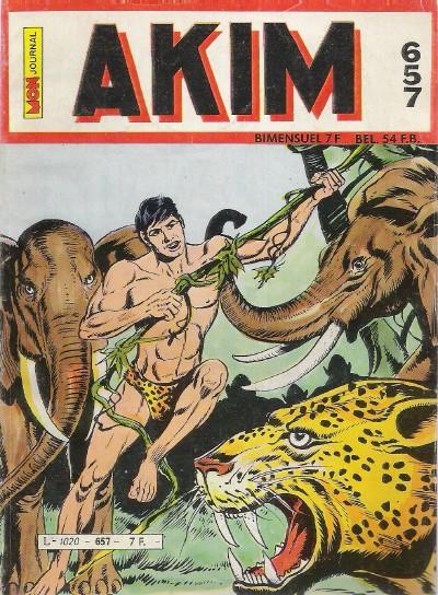 Couverture de Akim (1re série) -657- À la conquête de l'impossible