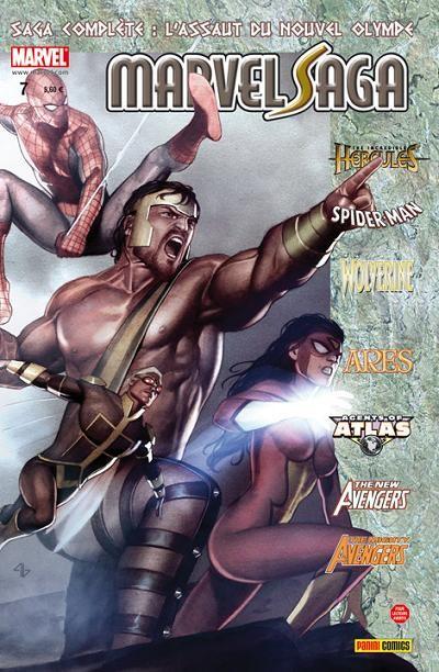 Couverture de Marvel Saga (1re série - 2009) -7- L'assaut du nouvel Olympe