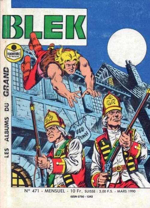 Couverture de Blek (Les albums du Grand) -471- Numéro 471