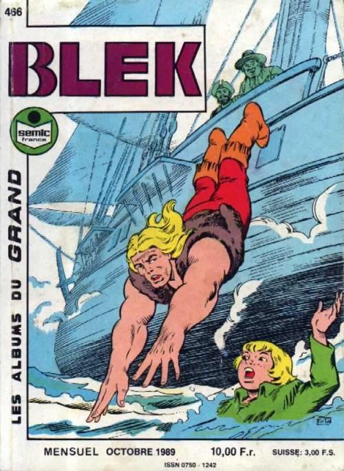 Couverture de Blek (Les albums du Grand) -466- La mort en voyage