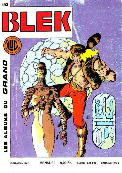 Couverture de Blek (Les albums du Grand) -452- Numéro 452
