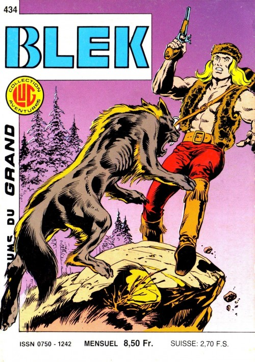 Couverture de Blek (Les albums du Grand) -434- Numéro 434