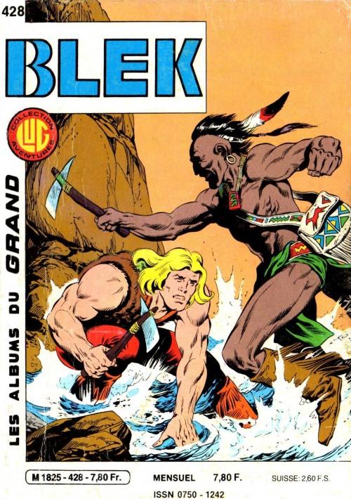 Couverture de Blek (Les albums du Grand) -428- Numéro 428