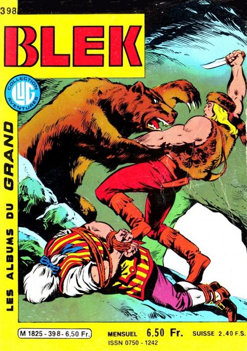 Couverture de Blek (Les albums du Grand) -398- Numéro 398