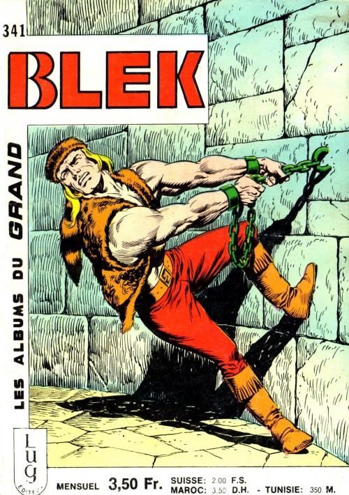 Couverture de Blek (Les albums du Grand) -341- Numéro 341