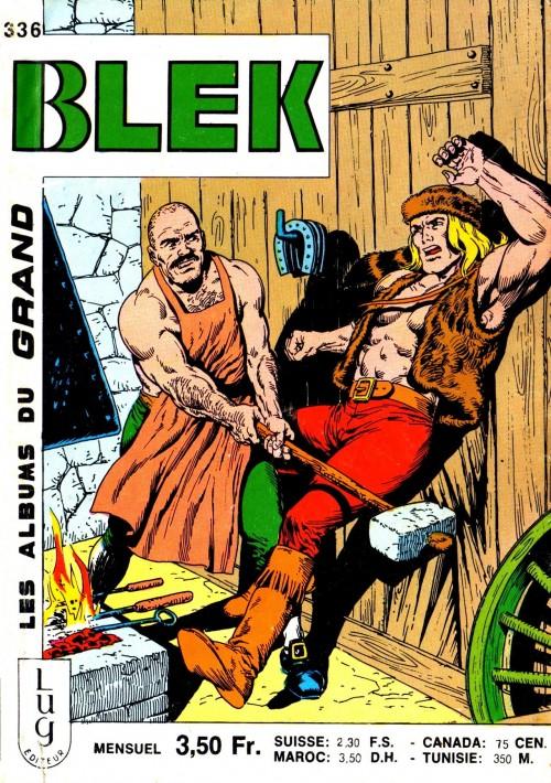 Couverture de Blek (Les albums du Grand) -336- Numéro 336
