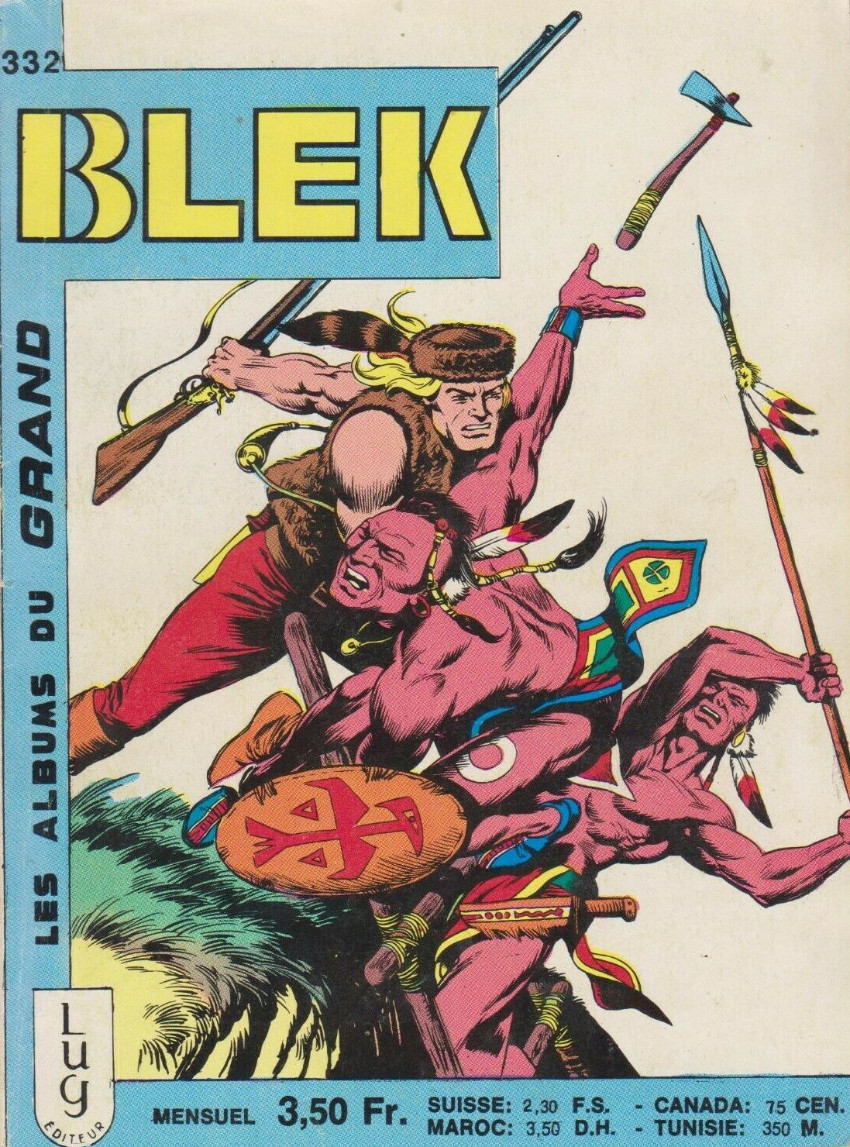 Couverture de Blek (Les albums du Grand) -332- Numéro 332