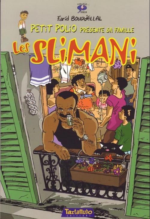 Couverture de Gags à l'harissa -HS1- Les Slimani