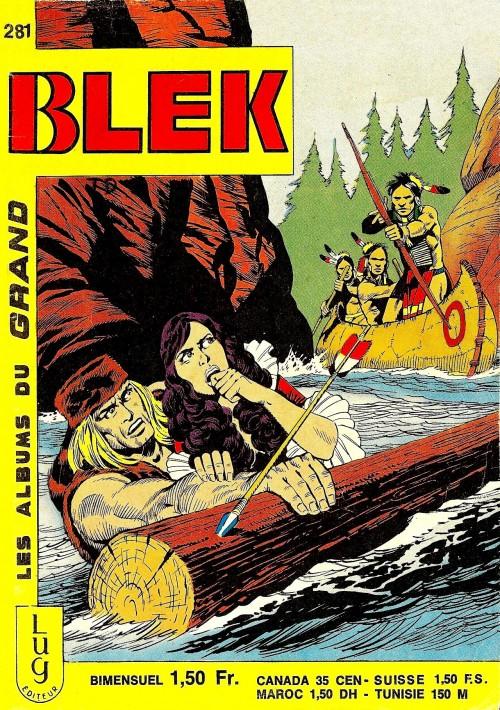 Couverture de Blek (Les albums du Grand) -281- Numéro 281