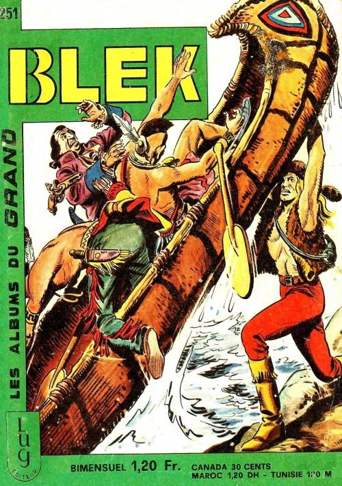 Couverture de Blek (Les albums du Grand) -251- Numéro 251
