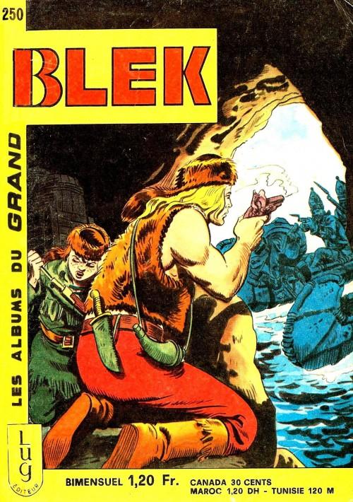 Couverture de Blek (Les albums du Grand) -250- Numéro 250
