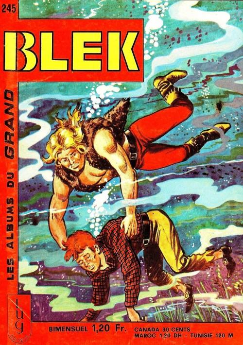 Couverture de Blek (Les albums du Grand) -245- Numéro 245