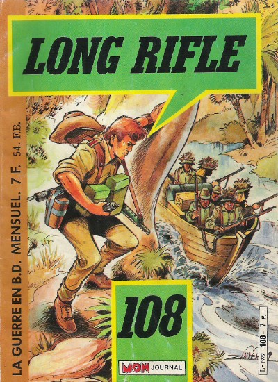 Couverture de Long Rifle -108- L'escadrille perdue