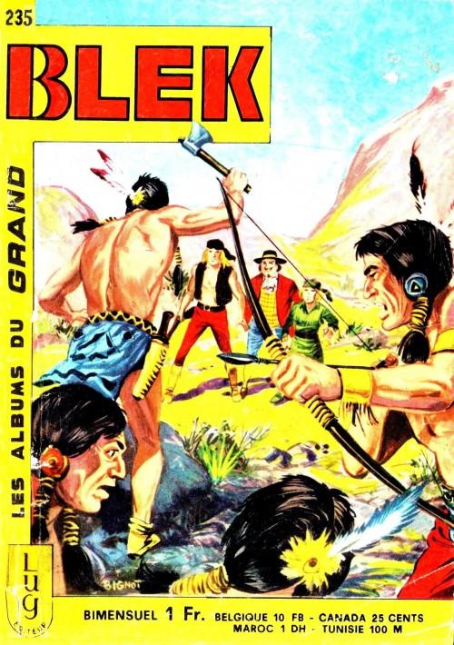 Couverture de Blek (Les albums du Grand) -235- Numéro 235