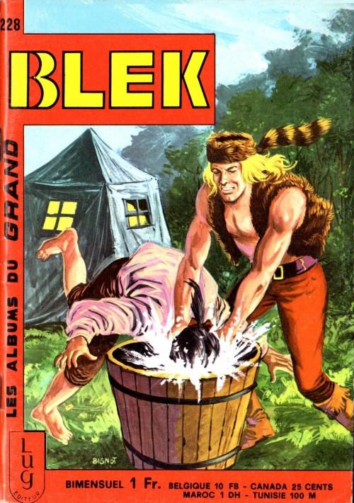 Couverture de Blek (Les albums du Grand) -228- Numéro 228
